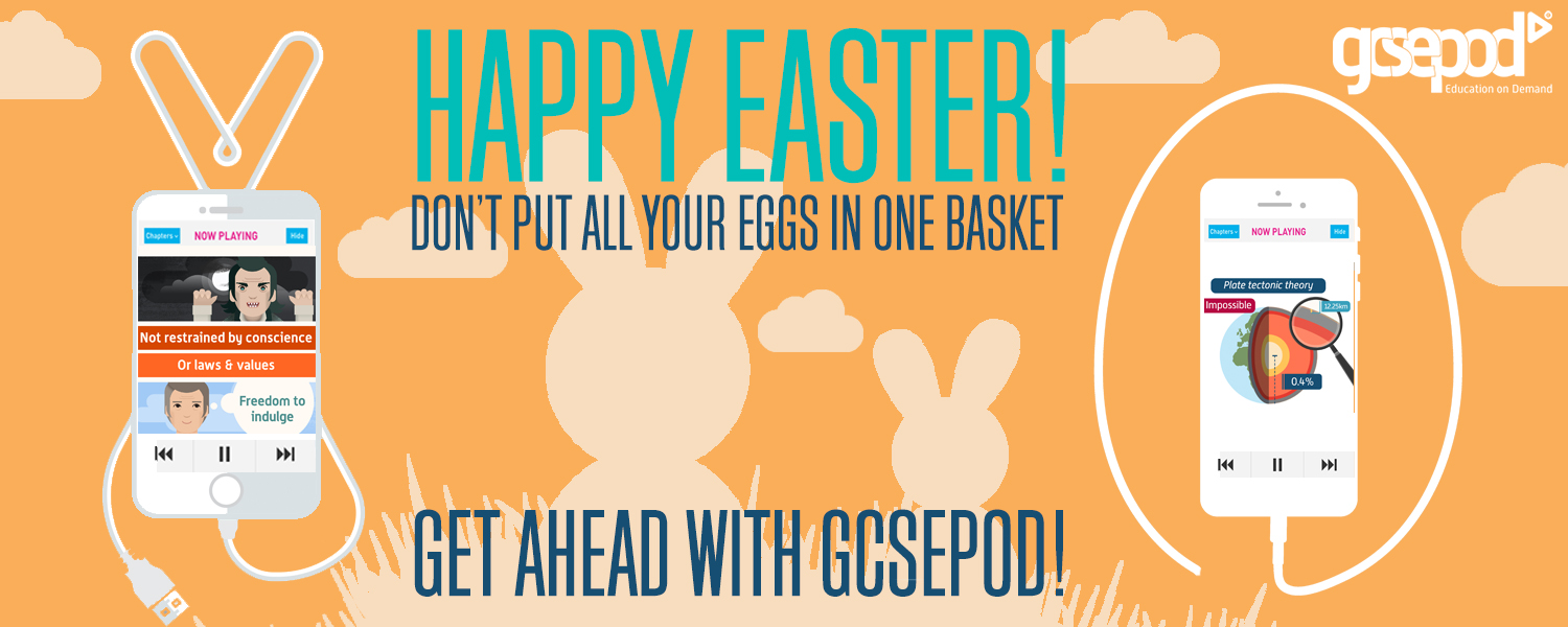 Happy Easter -- GCSEPod