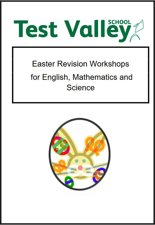 Easter Revision Workshops for English, Mathematics and Science