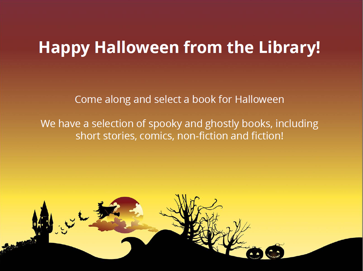 Happy Halloween from the Library